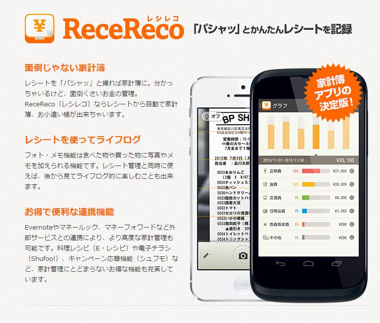 ReceReco(レシレコ)